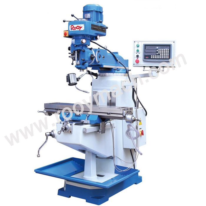 3S turret milling machine
